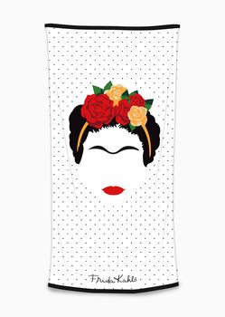 Handdoek Frida Kahlo - Minimalist