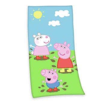 Handduk Prasiatko Peppa (Peppa Pig)