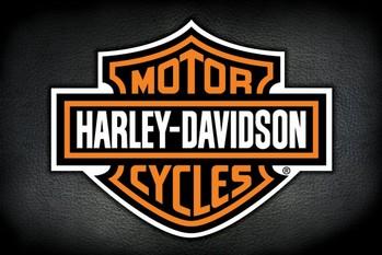 Harley Davidson - logo - плакат (poster)