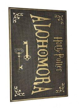 Χαλάκι πόρτας Harry Potter - Alohomora (Rubber)