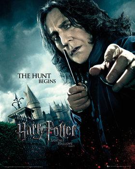 Harry Potter és a Halál ereklyéi 1. rész - Perselus Piton kép reprodukció
