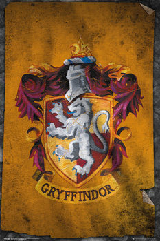 Harry Potter - Gryffindor Flag - плакат (poster)
