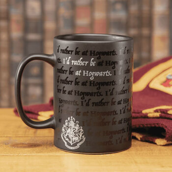 Taza Harry Potter - I Would Rather Be At Hogwarts