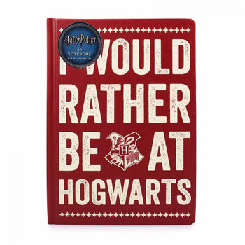 Σημειωματάριο  Harry Potter - Rather Be At Hogwart