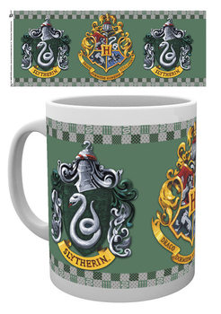 Skodelica Harry Potter - Slytherin Crest