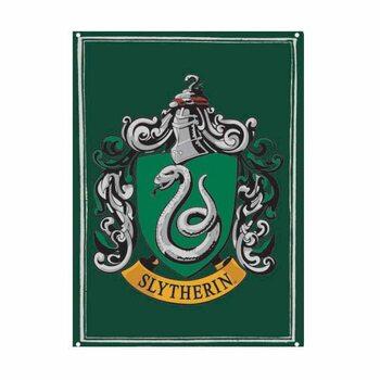 Harry Potter - Slytherin Plaque métal décorée