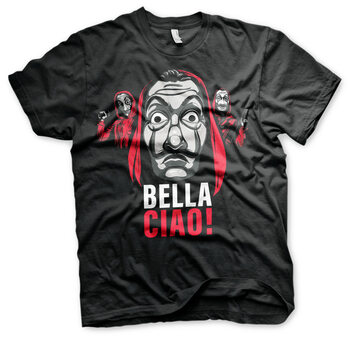 T-Shirt Haus des Geldes (La Casa De Papel) - Bella Ciao!