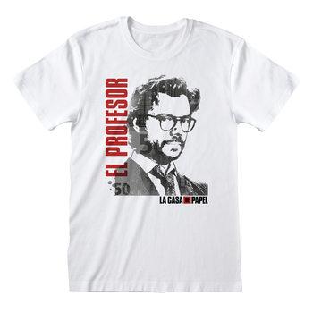 T-Shirt Haus des Geldes (La Casa De Papel) - El Profesor