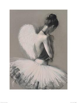 Hazel Bowman - Angel Wings II Festmény reprodukció