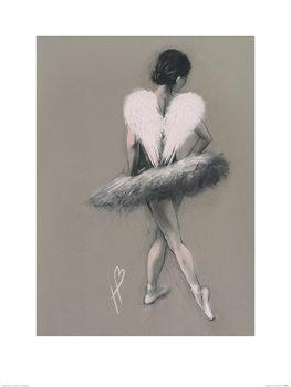 Hazel Bowman - Angel Wings III Festmény reprodukció