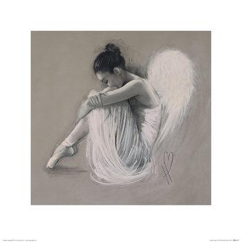 Hazel Bowman - Angel Wings IV Festmény reprodukció