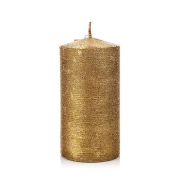 Candle Holder with Lid, Gold Heimdekoration