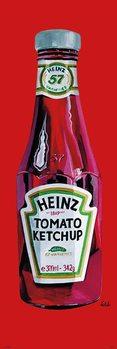 Heinz - tomato ketchup - плакат (poster)