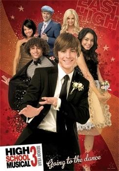 HIGH SCHOOL MUSICAL 3  - плакат (poster)
