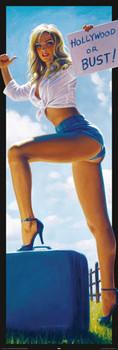 Hildebrandt - hollywood or bust! - плакат (poster)