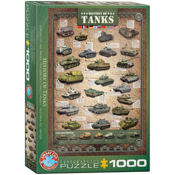 Πъзели History of Tanks