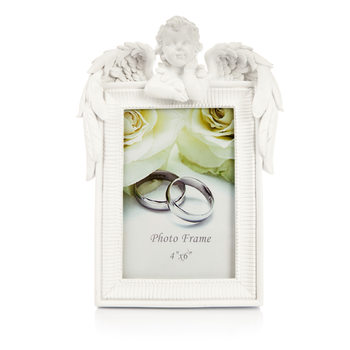Photo Frame with Angel – Photo 10x15cm Hjemmedekorasjon