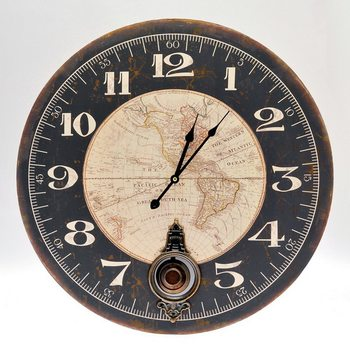 Hodiny Design Clocks - Map