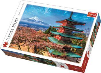 Puzzle Hora Fuji, Japonsko