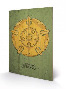 Game of Thrones - Tyrell kunst op hout