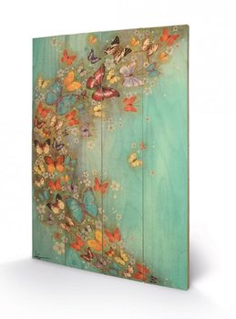 Lily Greenwood - Chinese Green kunst op hout