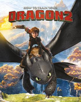How to Train Your Dragon 2 - Rocks - плакат (poster)