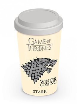 Cestovní hrnek Hra o Trůny (Game of Thrones) - House Stark