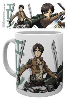 Hrnček Attack on Titan (Shingeki no kyojin) - Eren Duo