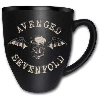 Hrnček  Avenged Sevenfold – Deathbat Matt Engraved