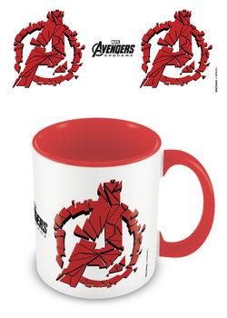 Hrnček Avengers: Endgame - Shattered Logo