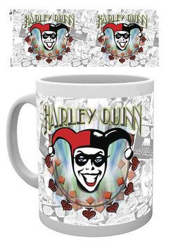 Hrnček Batman Comics - Harley Quinn