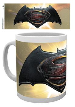 Hrnček Batman vs. Superman: Úsvit spravodlivosti - Logo Alt
