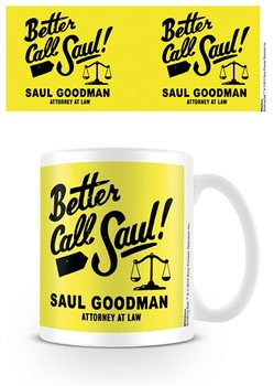 Hrnček Breaking Bad (Perníkový tatko) - Better Call Saul Logo