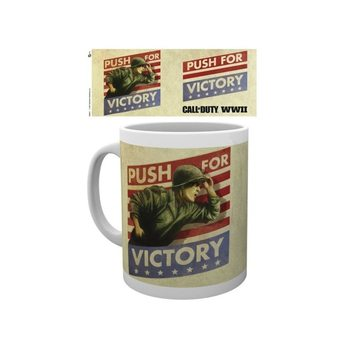 Hrnček  Call Of Duty WWII - Push For Victory