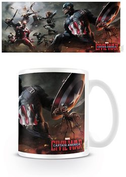 Hrnček Captain America: Civil War - Battle