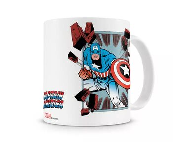 Hrnček Captain America - Comic Strip