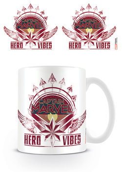 Hrnček Captain Marvel - Hero Vibes