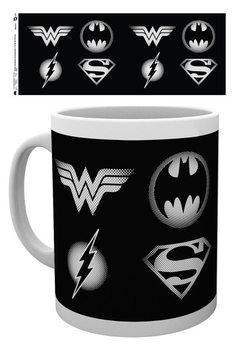 Hrnček DC Comics - Logos