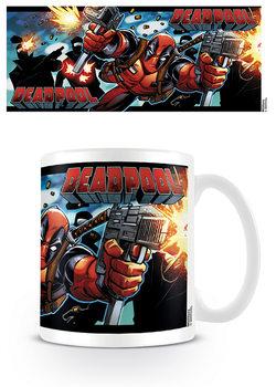 Hrnček Deadpool - Shooting With Style