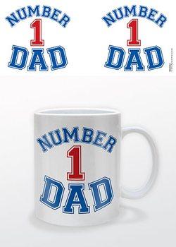 Hrnček Deň otcov - Number 1 Dad