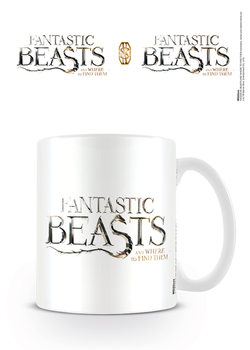Hrnček Fantastické zvery a ich výskyt - Logo