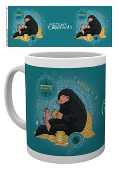 Hrnček  Fantastické zvery: Grindelwaldove zločiny - Niffler Coin