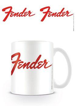 Hrnček Fender - Logo
