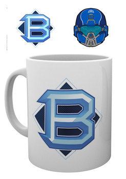 Hrnček  Halo 5 - PVP Blue