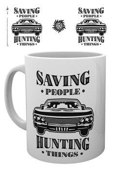 Hrnček Hrozba z temnoty - Hunting Things