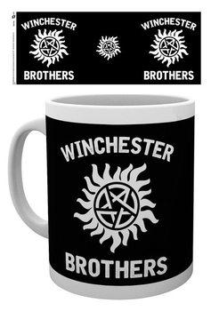 Hrnček Hrozba z temnoty - Winchester Brothers