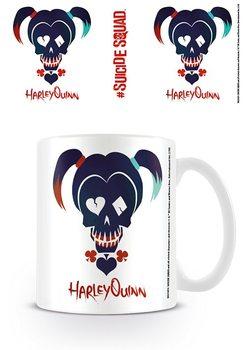 Hrnček Jednotka samovrahov - Harley Quinn Skull