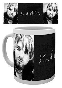 Hrnček Kurt Cobain - Signature