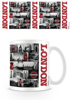 Hrnček Londýn - Red collage