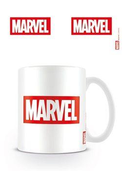 Hrnček Marvel - Logo White